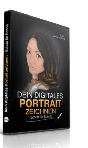 Portrait zeichnen DVD Kurs