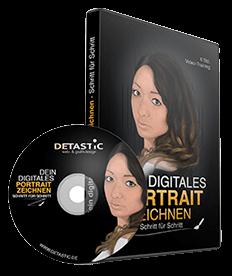 DVD Portrait zeichnen